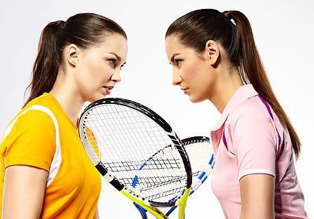 девушки теннисистки