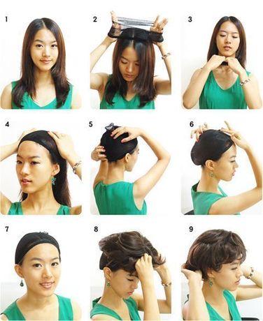 как одевается парик