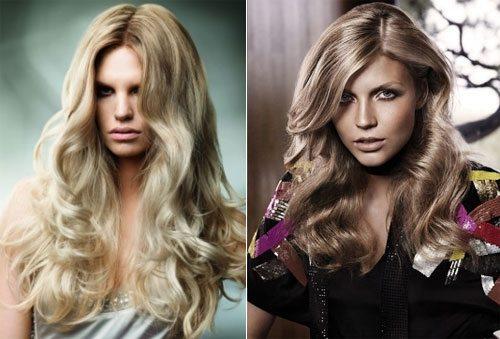 две красавицы с шевелюрой цвета блонд