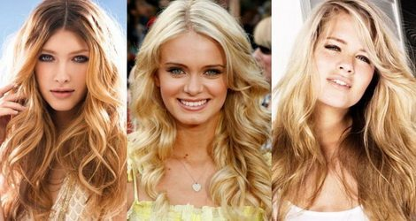 три милые блондинки