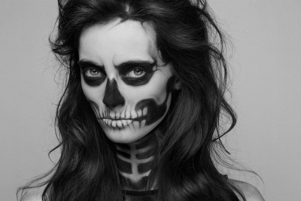 makeup череп