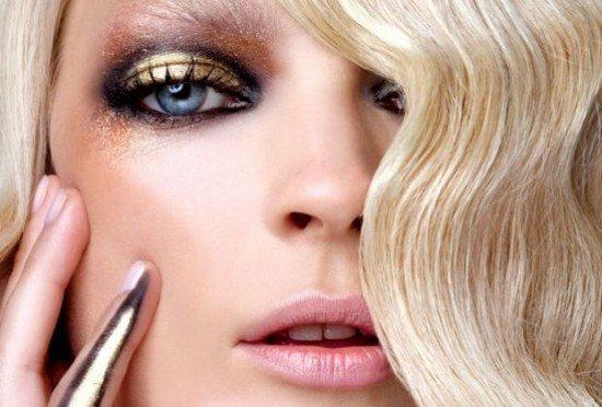 золотисто- бронзовый make up