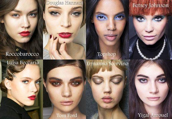 осенний макияж 2014 года