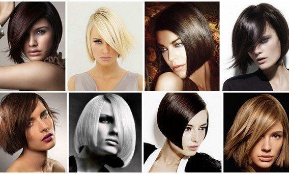 восемь красивых девушек