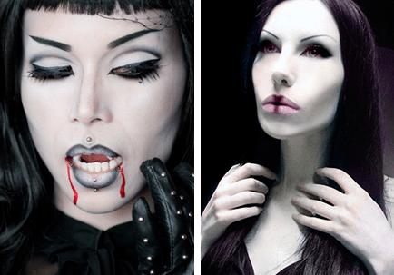 страшные вампирши
