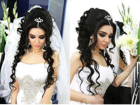 невеста брюнетка