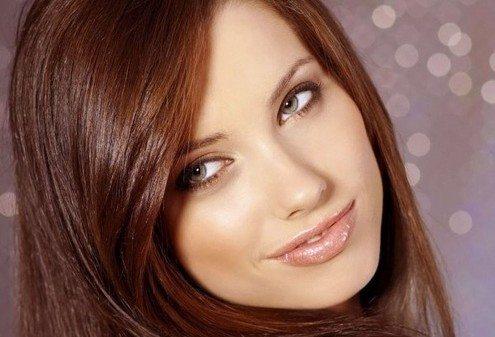 дневной маккияж для шатенок с зелеными глазами