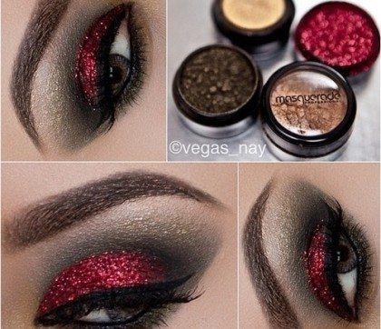 роскошный вечерний макияж