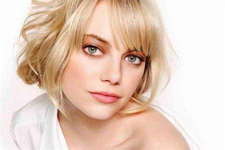 красивый макияж для зеленоглазых блондинок
