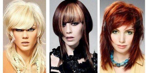 разновидности стрижки шапочка на средние волосы