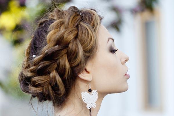 перпендикулярная коса ободок