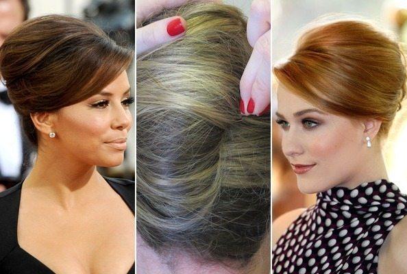 Деловые прически на средние волосы фото