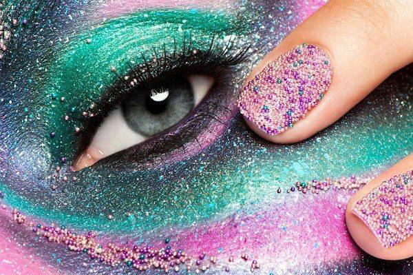 классный 3 дэ nail art