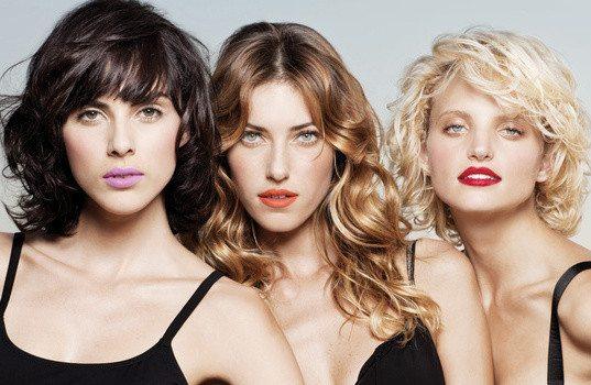 три симпатичных девушки