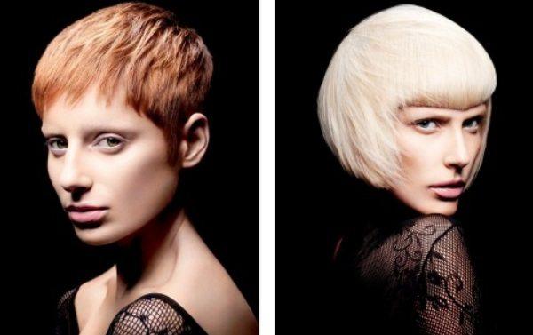 две модели с необычной внешностью