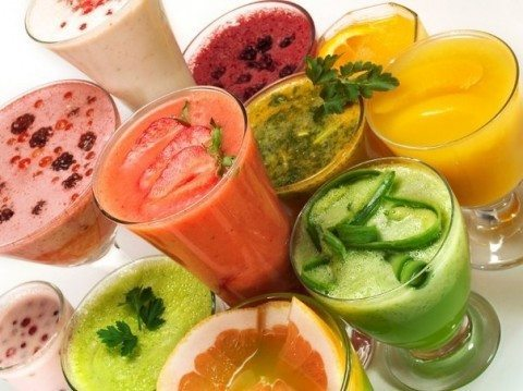 смуззи из фруктов и овощей