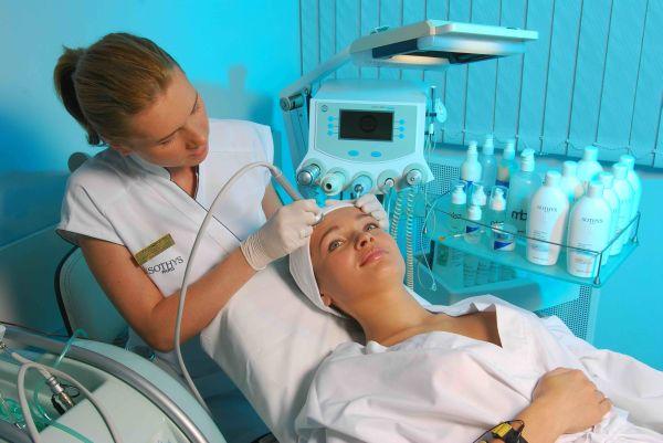механическая озонотерапия лица