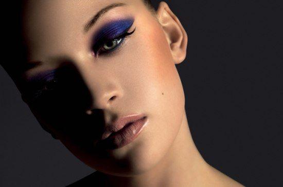 красивый фиолетовый makeup