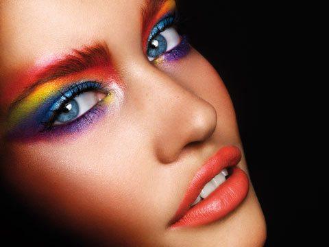 Цветной make-up