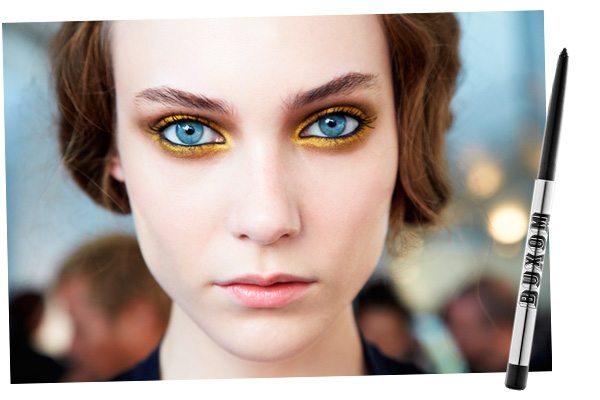 желтые тени на глазах