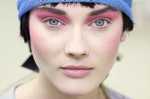 make up в розовых тонах