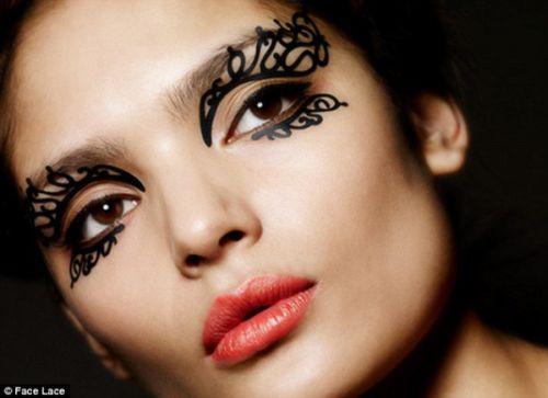эпатажный макияж