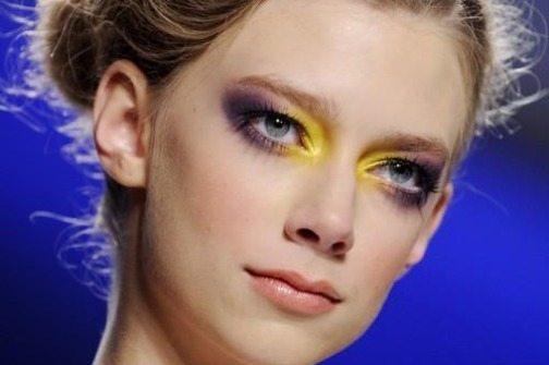 яркий makeup глаз