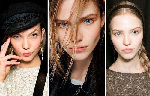 natural makeup как зимний тренд  2015