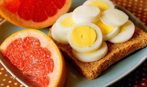диетическая порция еды