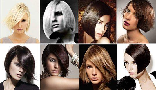 девушки с гладкими волосами