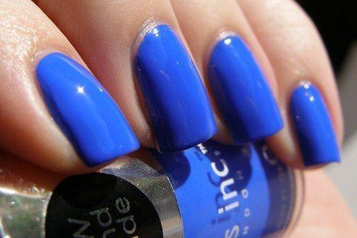 красивое синее покрытие