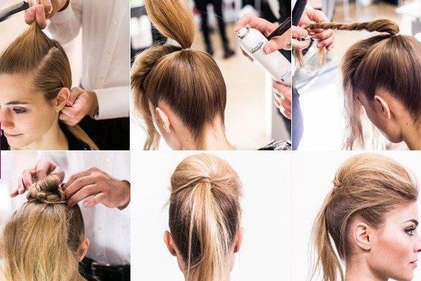 Причёски на жидкие волосы в домашних условиях фото пошагово