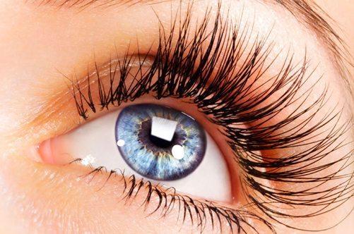 голубые глазки