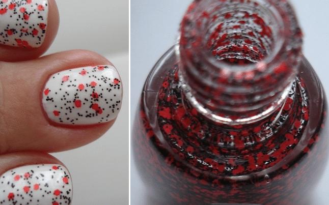 """""""маковый"""" дизайн ногтей"""