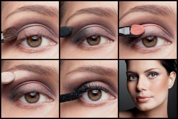 полный make up