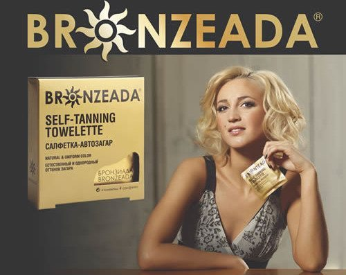 салфетки Bronzeada