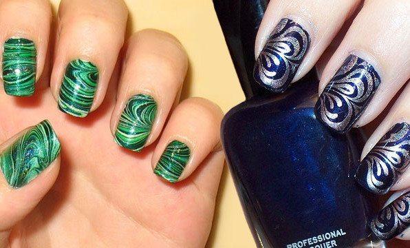 зеленый и синий дизайн