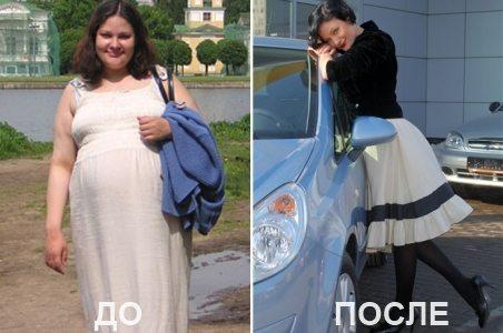 Мириманова до и после похудения