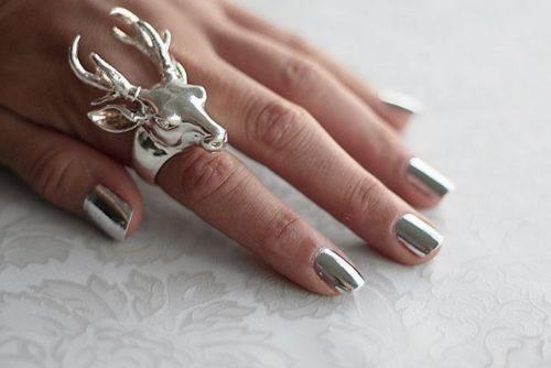 металлический дизайн