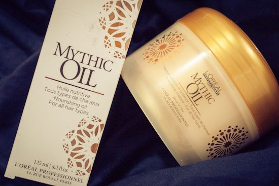 loreal mythic oil and hairmask