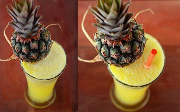 имбирно- ананасовый напиток