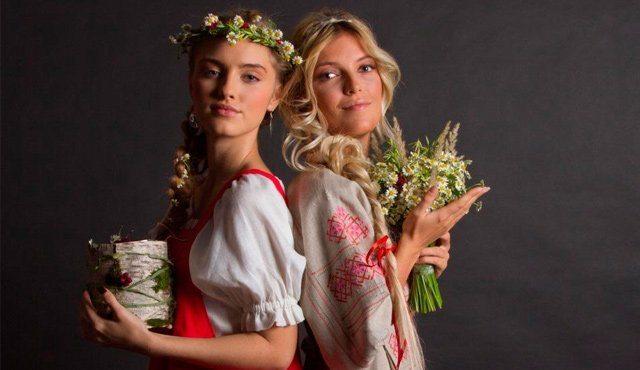 древнерусские красавицы