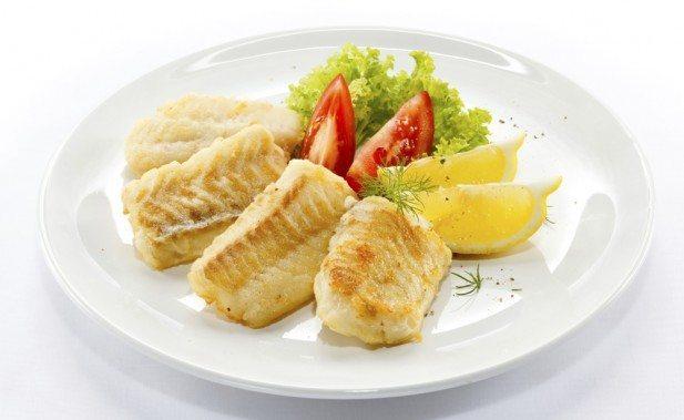 рыбное блюдо в 1 день диеты