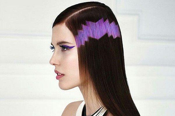фиолетовый орнамент