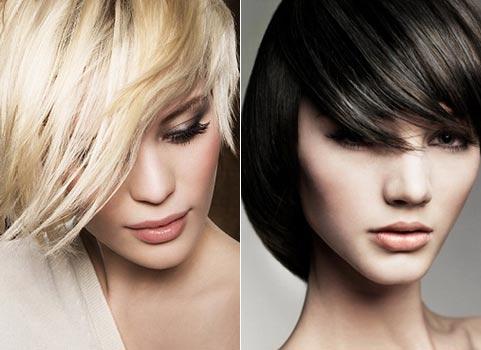 модель брюнетка и модель блондинка