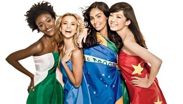 Девушки разных народов