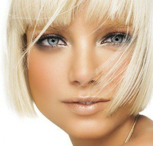 ангельский макияж для голубых глаз