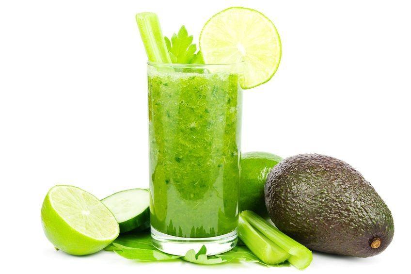 зеленое смузи