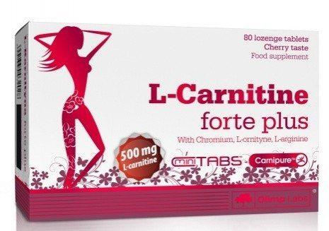 таблетки l carnitine 500 forte plus