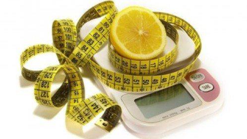 долька лимона на весах